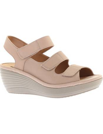 7a79cdf70b78 Women s Clarks Reedly Juno Wedge Sandal from Shoes.com
