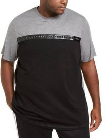2XB,3XB NEW ~$40 INC International Concepts Mens Studded T-Shirt Big /& Tall