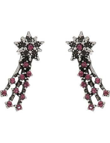 b1c643337 Marc Jacobs. Charms Celestial Crystal Shooting Star Studs Earrings