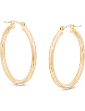 6892503280d9 Shop Women s Zales Gold Earrings up to 60% Off