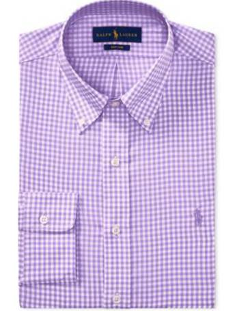 Michelsons New Menss Slim-Fit Charcoal White Stripe Button-Down Shirt