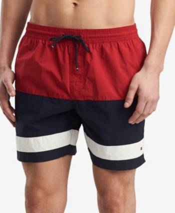 ace9e1f8bfab4 Shop Men's Tommy Hilfiger Swim Trunks up to 75% Off   DealDoodle