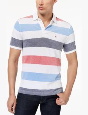 f67a5da2 Shop Men's Tommy Hilfiger Polo Shirts up to 75% Off   DealDoodle