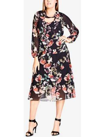 c5f3f4a93806 Shop Women s City Chic Floral Dresses up to 40% Off