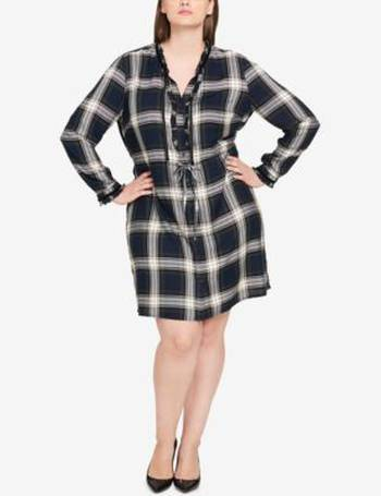 c61b04d05b3a5 Shop Women s Tommy Hilfiger Shirt Dresses up to 85% Off