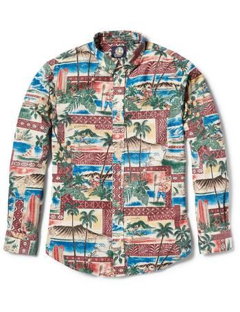 d400077f4ee Hawaiian Christmas 2018   Tailored Fit Shirt Long Sleeve from Reyn Spooner