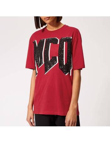 mcq t shirt women's