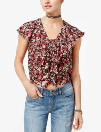 c9a8164ee08dfe Shop Women's American Rag Crop Tops up to 75% Off   DealDoodle