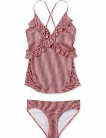 548ca0ddb26e5 Motherhood Maternity. Printed Tankini Swimsuit. from Macy's