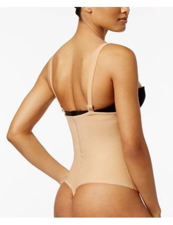 d4be6c365 Leonisa. Women s Smart Lace Firm Control Body Shaper 18494. from Macy s.   75.00. Women s Firm Tummy-Control Thong-Style Bodysuit 018677N from Macy s