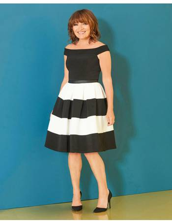 d268dadfa467e Lorraine Kelly Stripe Fit & Flare Dress from JD Williams. 6% OFF