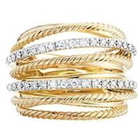 Women's Yellow Gold Rings from David Yurman