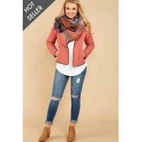 Women's Red Dress Boutique Jackets