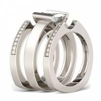 Women's Jeulia Jewelry  Stackable Rings