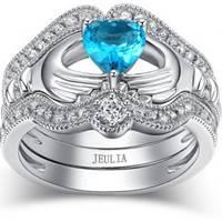Women's Jeulia Jewelry  Claddagh Rings
