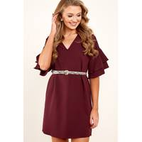 Women's Red Dress Boutique Shift Dresses