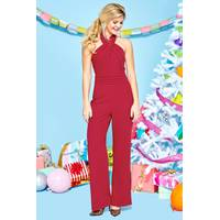 Women's Red Dress Boutique Jumpsuits