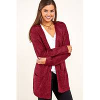 Women's Red Dress Boutique Cardigans