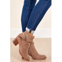 Women's Red Dress Boutique Booties