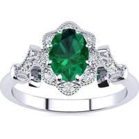 Women's SuperJeweler Emerald Rings