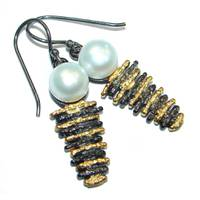 Women's Silverrushstyle Pearl Earrings