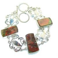 Women's Silverrushstyle Sterling Silver Bracelets