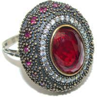 Women's Silverrushstyle Ruby Rings