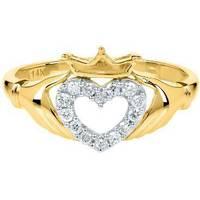 Women's Helzberg Diamonds Claddagh Rings