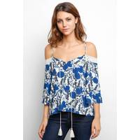 Women's South Moon Under Cold Shoulder Blouses