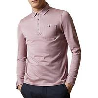 Men's Long Sleeve Polo Shirts from Ted Baker