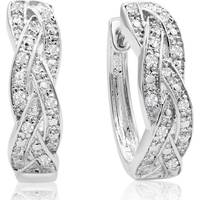 Women's SuperJeweler Hoop Earrings