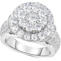 Women's TruMiracle White Gold Rings